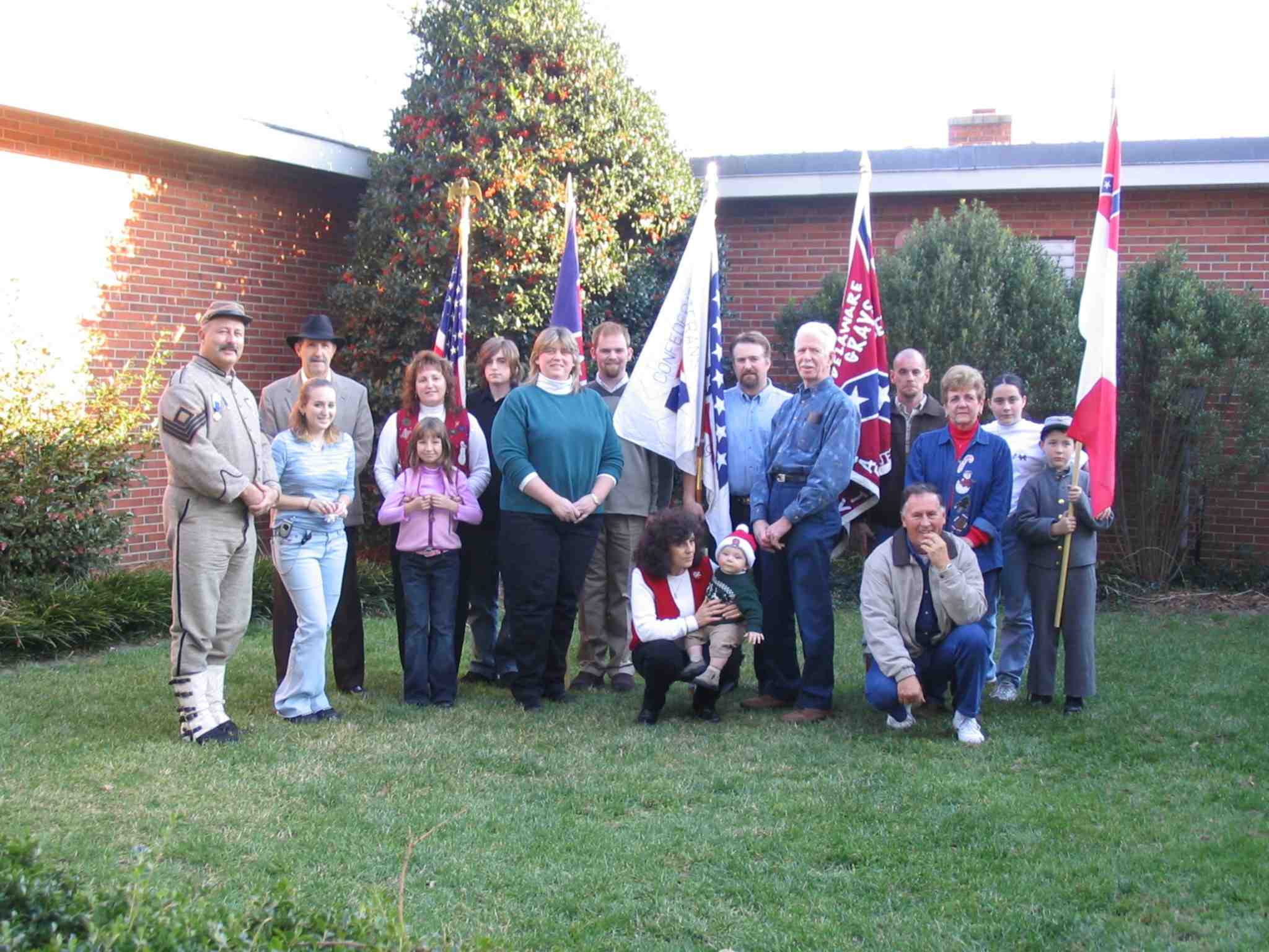 Delaware Grays Charter Signing and Annual Camp Christmas Gathering