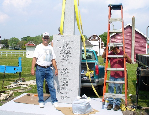 Delaware Confederate Monument Construction and Istallation